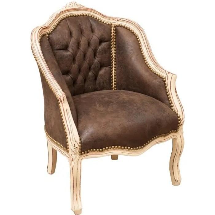 fauteuil louis xvi de style francais en