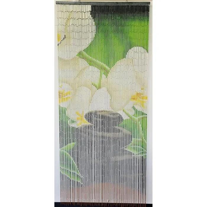 rideau de porte perles bambou interieur et exterie
