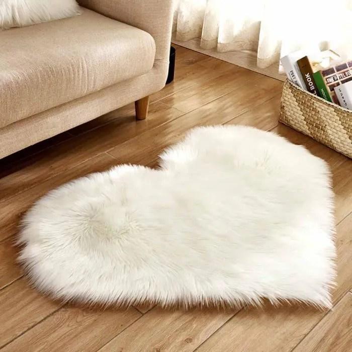 moquette tapis imitation laine en peau de mouton e
