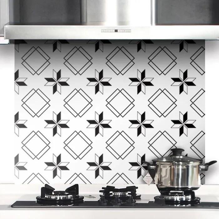 carrelage geometrique stickers muraux papier peint decor pvc impermeable revetement mural papier peint decalque pour cuisine salon