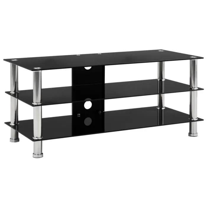meuble tv contemporain meuble salon banc tv noir 9