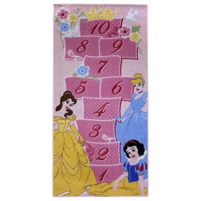 tapis enfant princesse 160 x 80 cm