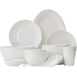 vaisselle porcelaine blanche