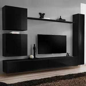 meuble tv colonne cdiscount maison