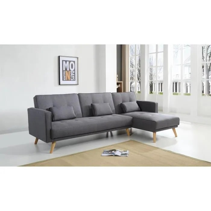 scandinave canape d angle reversible