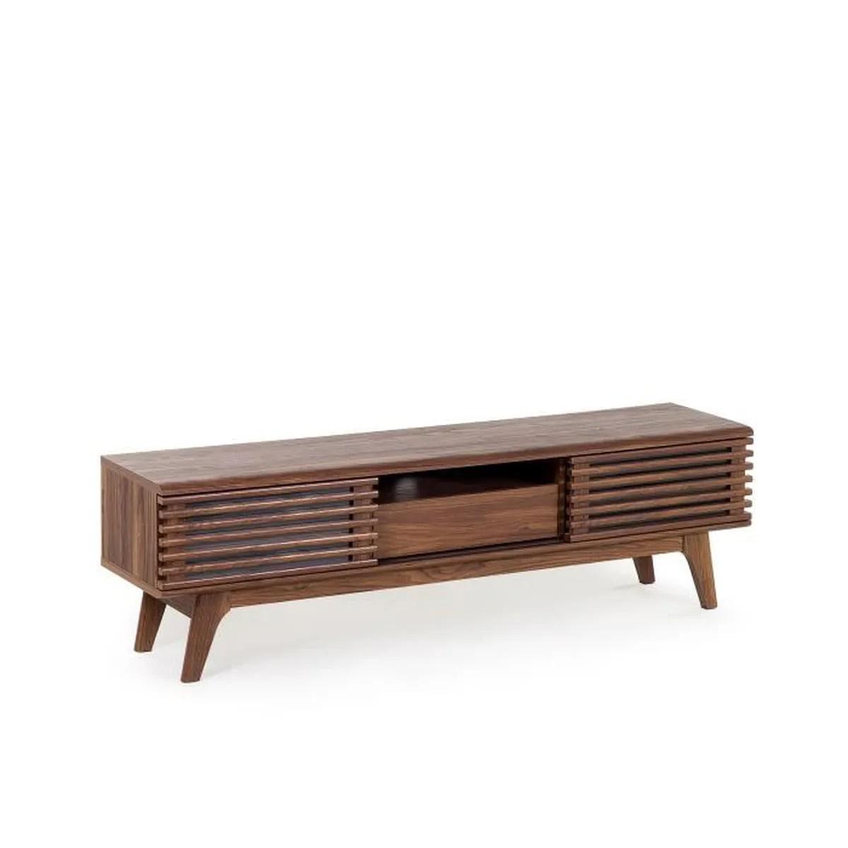 meuble tv brun