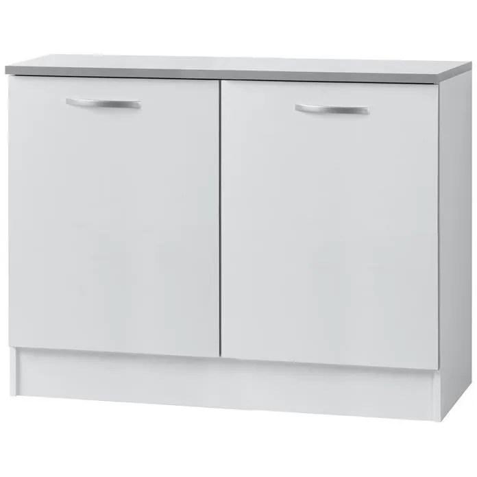 meuble bas de cuisine classique 120 cm