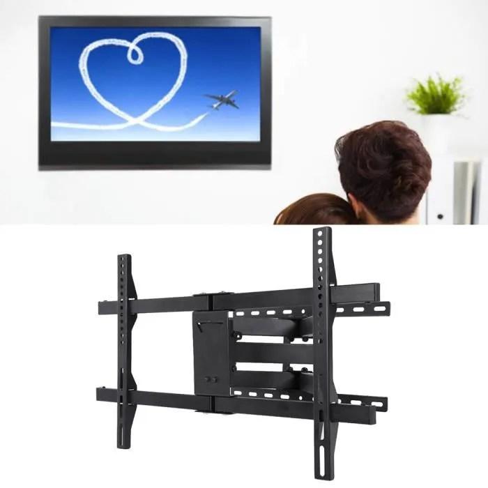 support mural tv avec grand bras