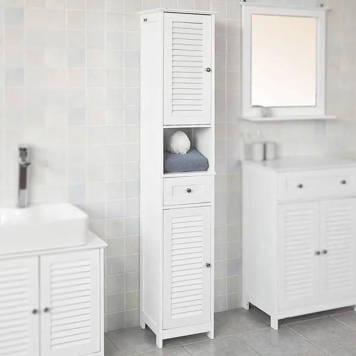 meuble colonne de salle de bain armoire