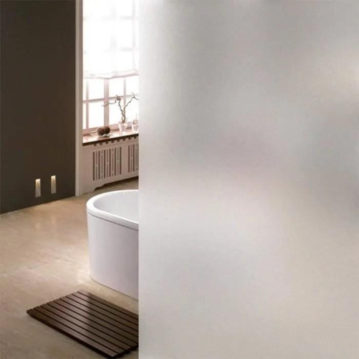film adhesif vitrage salle de bain