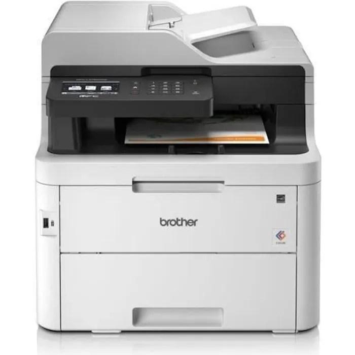 BROTHER Imprimante MFC-L3750CDW - multifonction laser couleur - Ecran tactile: 9,3 cm
