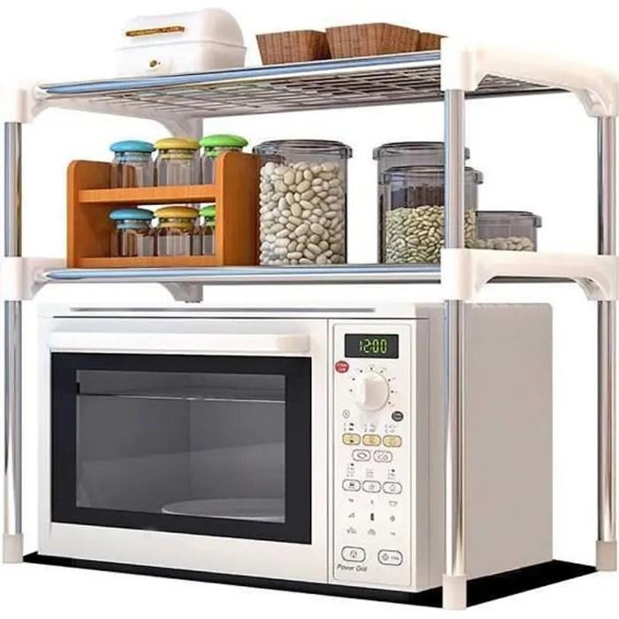 tempsa etageres de cuisine meuble rangement cuisine support etagere micro ondes