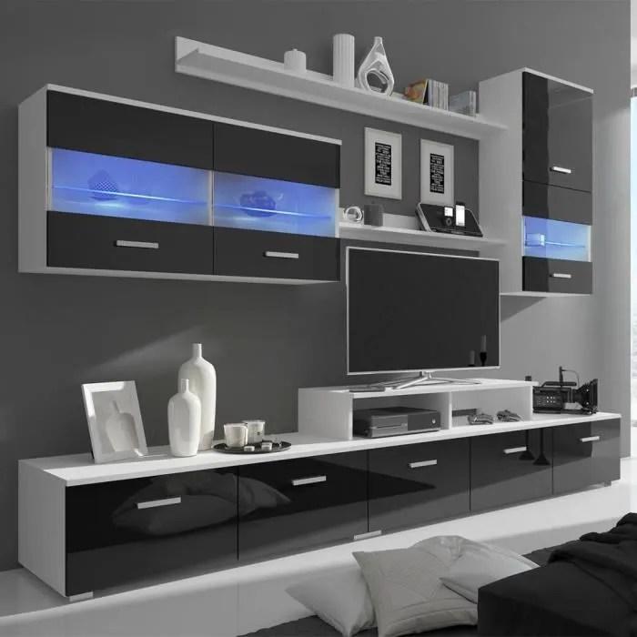 meuble tv avec led 250 cm