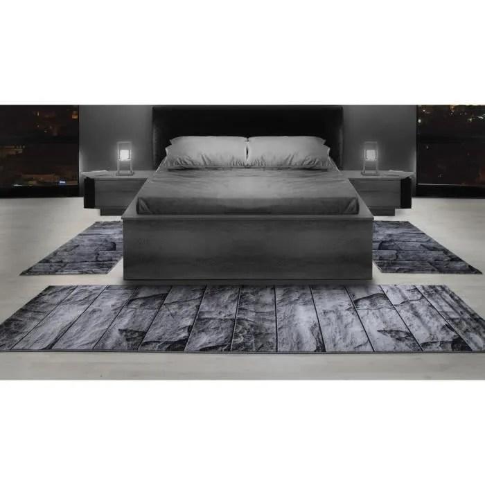 tapis a motif de bordure de lit tapis