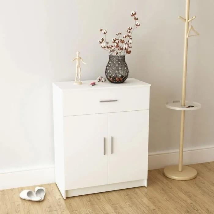 buffet armoire a tiroirs meuble bas rangement