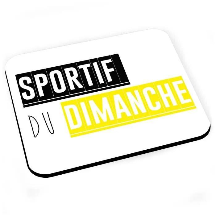 https www cdiscount com informatique clavier souris webcam tapis de souris sportif du dimanche drole humour s f 107021422 fab3665989122333 html