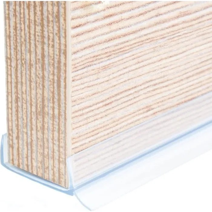 1 5m pvc bavette de plinthe 18mm transparent cuisine planche mdf beaucoup de couleurs et de tailles