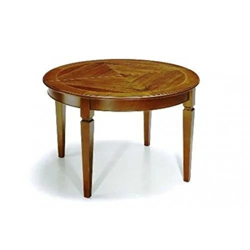 table bois massif ronde extensible