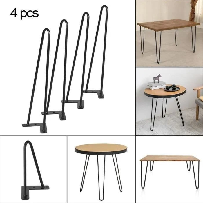 18 pouces table hairpin jambes heavy duty fer a repasser table basse bureau moderne design angled bureau table complices noi