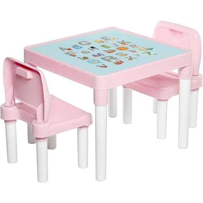 table et chaises pour enfants ensemble de table de jeu