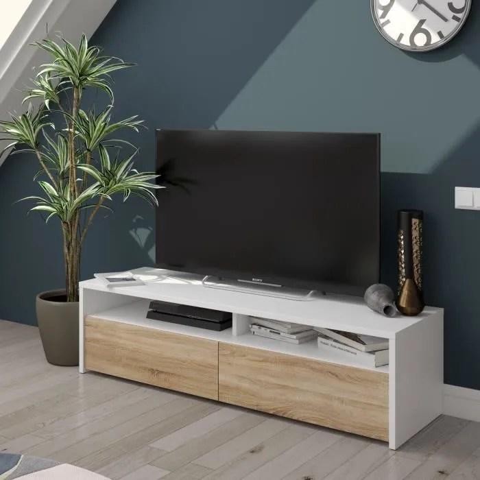 meuble tv pour le salon avec deux portes a ouvertu