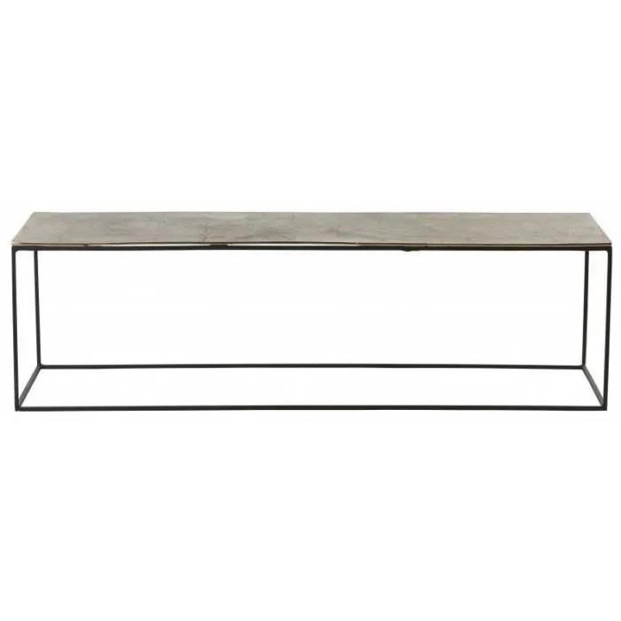table basse ibiza 140x41x40 cm 140 cm aluminium