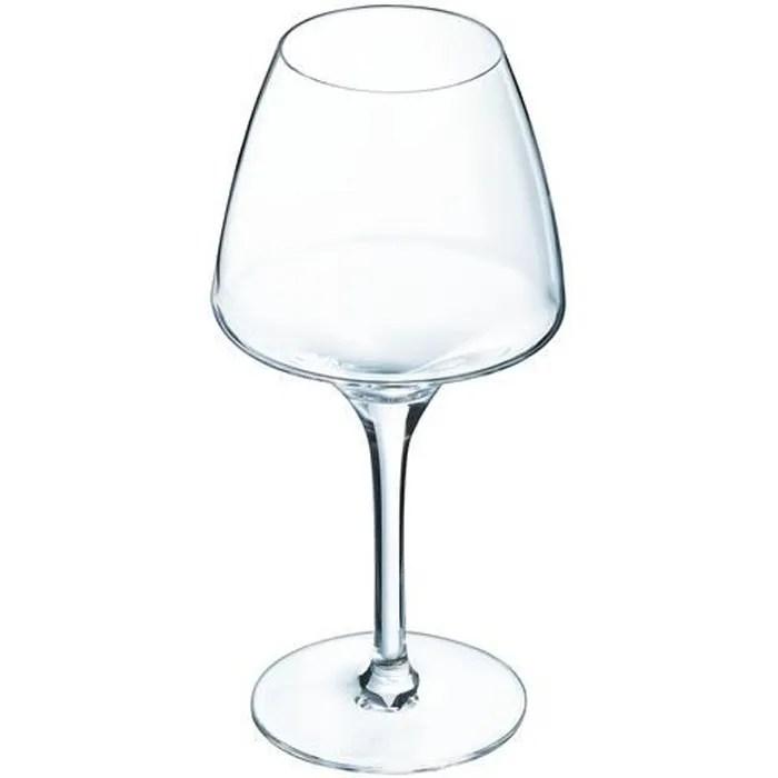 6 verres a vin blanc 32cl open up chef sommelier cristallin design original 30 plus resistant
