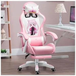 chaise de bureau gamer fille