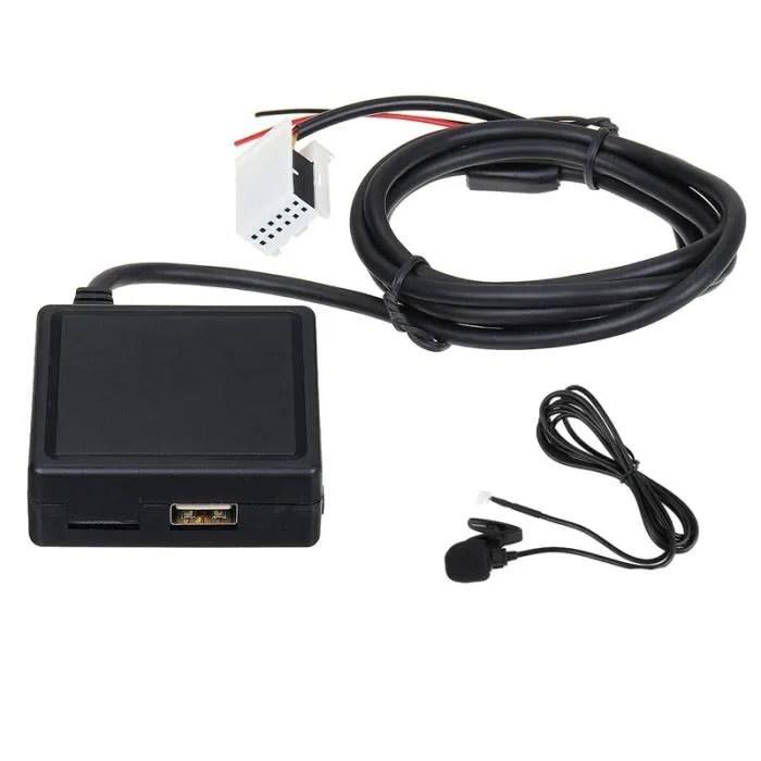 voiture hifi audio bluetooth 5 0 module aux microp