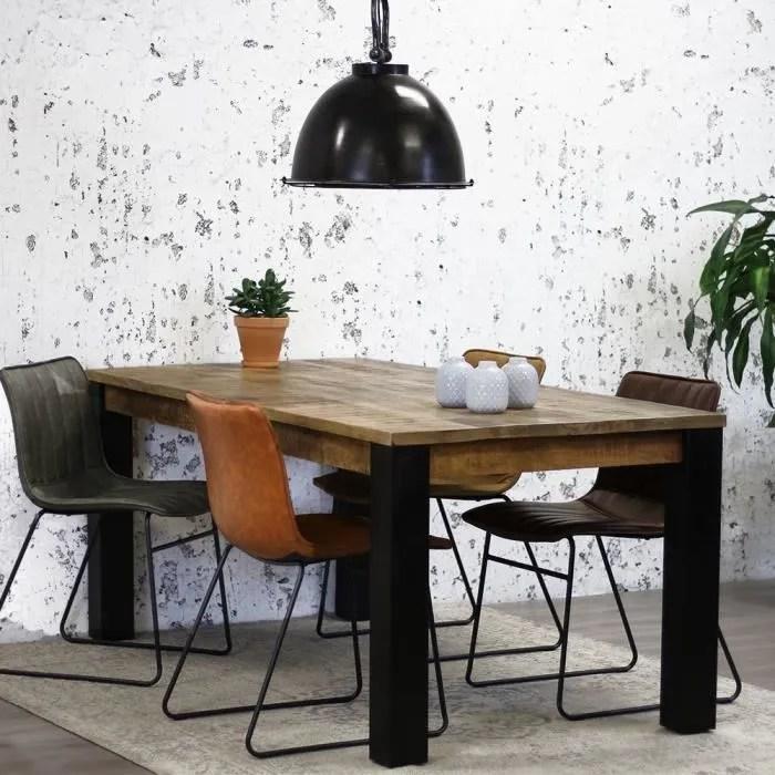 table salle a manger bois massif