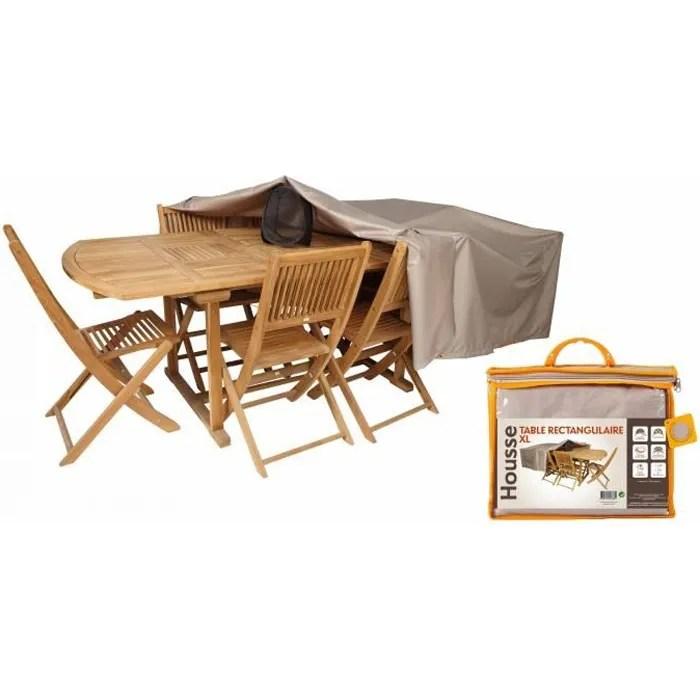 housse de protection impermeable table de jardin r