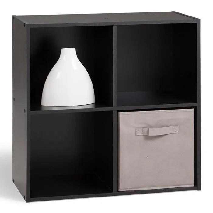 compo cube 4 cases noir achat vente