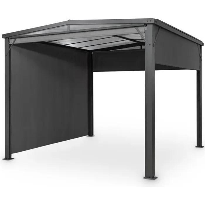 pergola aluminium toit rigide