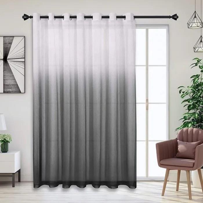 jupitte rideau voilage gris blanc voilage ombre de