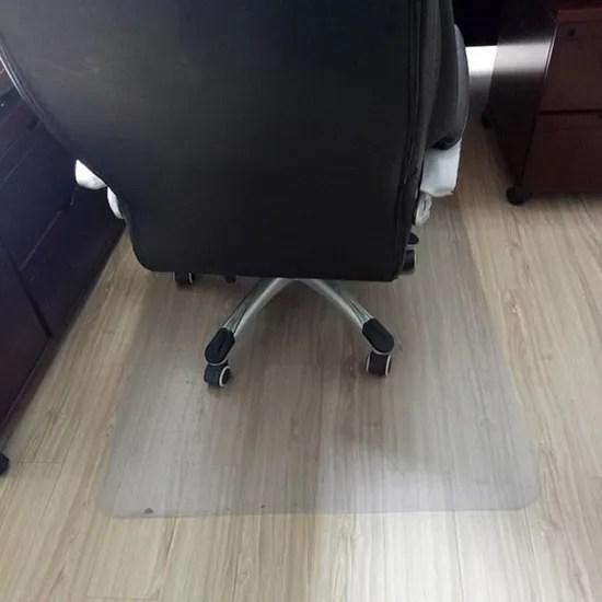 50 90cm tapis de sol chaise bureau tapis de chaise de bureau tapis protege sol parquet transparent tapis pour chaise a roulettes