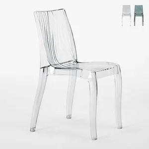 chaise transparente soldes cdiscount