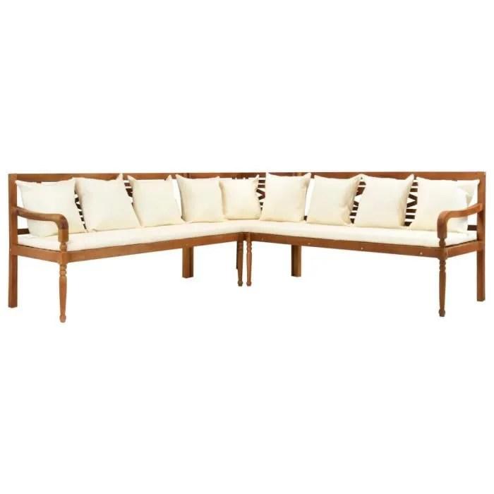 acacia massif brun meubles meubles