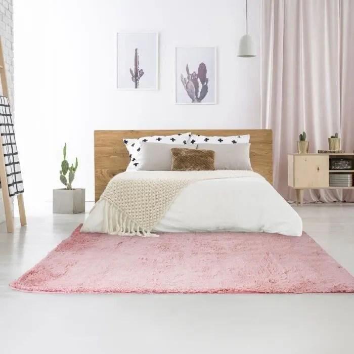 tapis rose 160x230