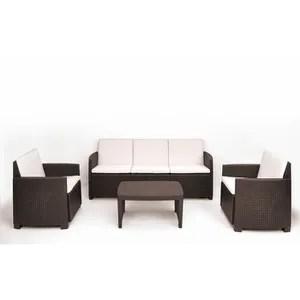 salon de jardin exterieur deux fauteuils une table basse