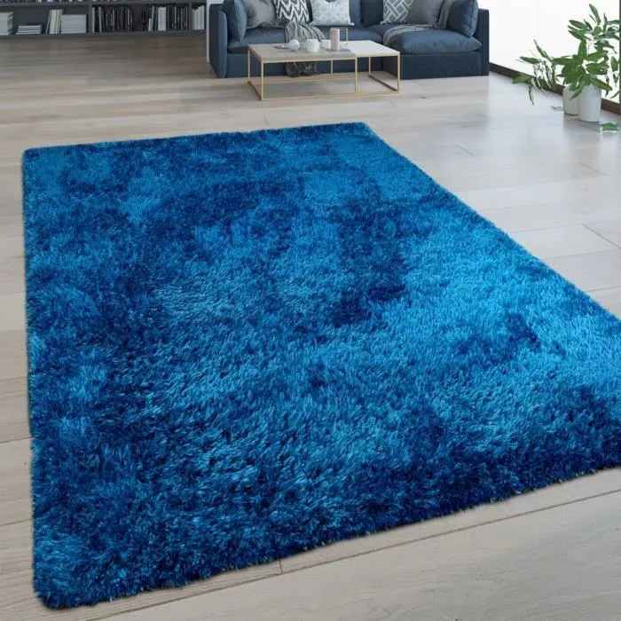 tapis bleu roi