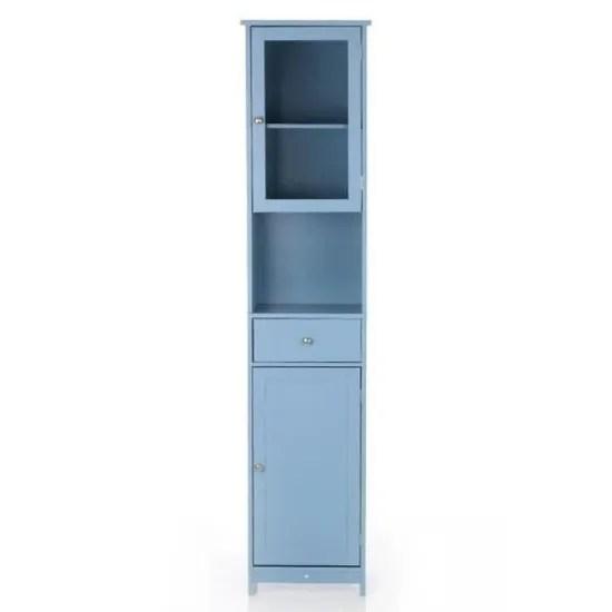 tiroir porte miroir cabinet haut meuble