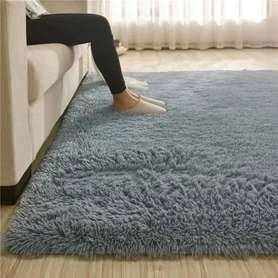 tapis epais au sol moelleux 100x160cm tapis de