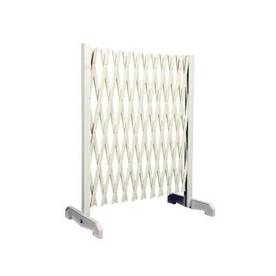 barriere extensible blanche