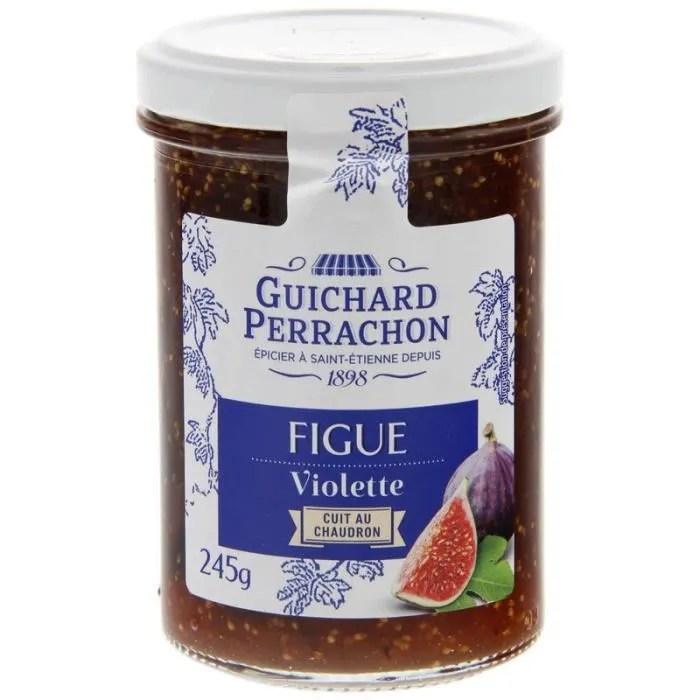 guichard perrachon confiture de figues violettes 245 g