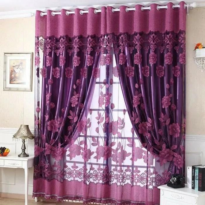 rideaux voilage 100x250 a oeillet rideau voilage