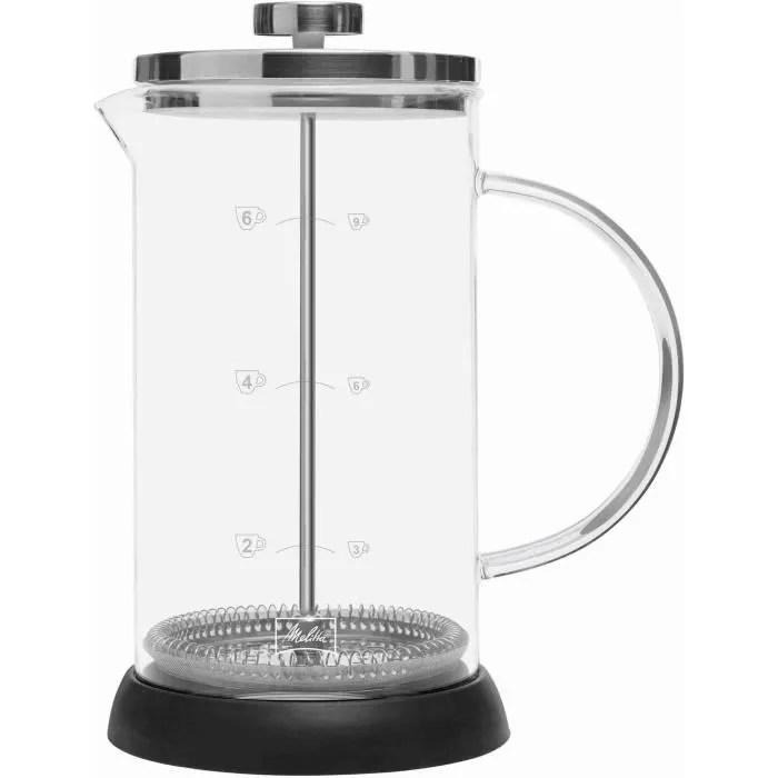 melitta cafetiere a piston standard 9 tasses