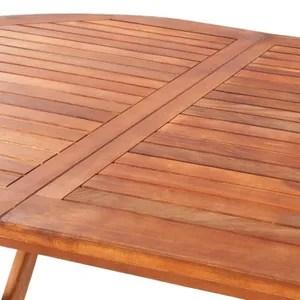 table de jardin en bois cdiscount jardin