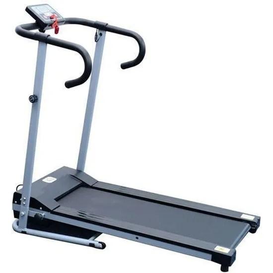 tapis roulant de course electrique fitness argent