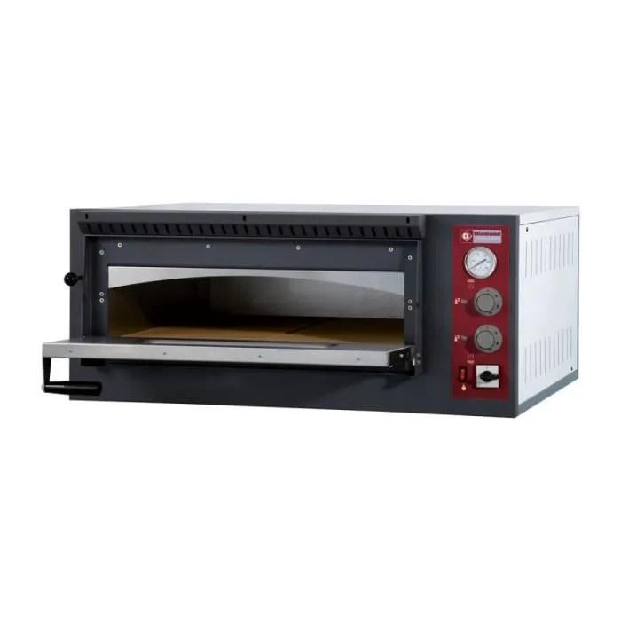 Four A Pizzas Electrique 6 Pizzas O 33 Cm Achat Vente Four Cdiscount