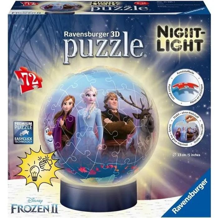 puzzle 3 d lumineux